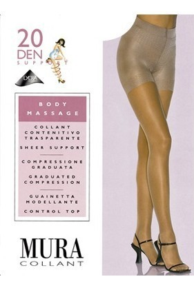 Колготки MURA 302 BODY MASSAGE 20 Den