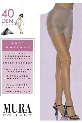 Колготки MURA 304 BODY MASSAGE 40 Den