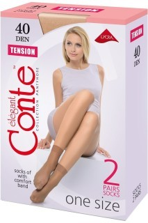 Носки Tension 40 Den (2 пары)