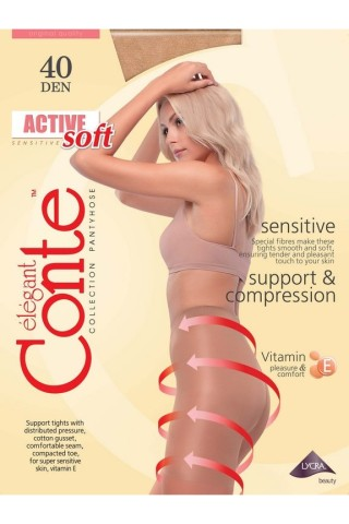 Колготки Conte Active soft 40 Den